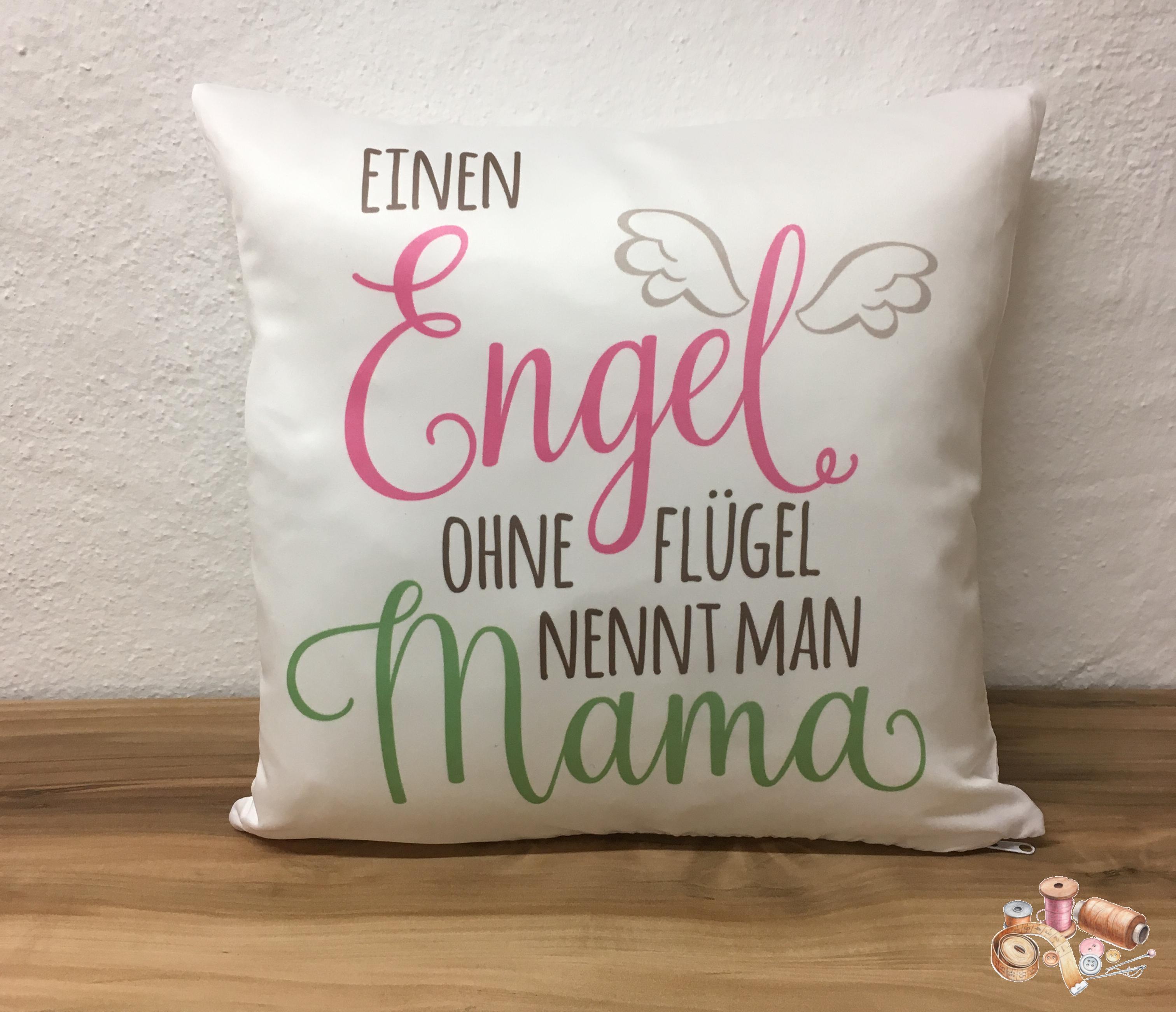 Tante Kete Kissen Bedruckt Mit Wunderschönem Spruch Für Mamas 35 X