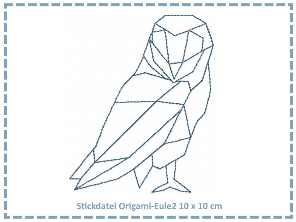 Origami Eule2 10x10